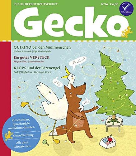 Gecko Kinderzeitschrift Band 62: Die Bilderbuch-Zeitschrift