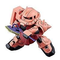 SDガンダム クロスシルエット シャア専用ザクⅡ 色分け済みプラモデル