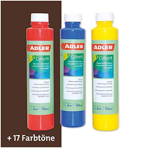 Colorit-AF 513 Abtönfarbe 250ml Dunkelbraun Wandfarbe Volltonfarbe