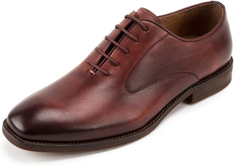 Handgjorda sportskor, sportskor, sportskor, herrskor, ensamma skor, engelska engelska engelska läderskor, andfådda skor, herrskor, klassiska formella Oxfordskor, syrliga skor i Oxfordkläder (färg  Claret, Storlek  8 -UK)  skydd efter försäljning