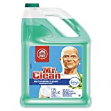 Mr. Clean 23124 Multipurpose Cleaning Solution with Febreze 128 oz Bottle Meadows & Rain Scent