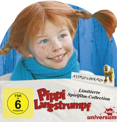 Pippi Langstrumpf - Limitierte Spielfilm-Collection (4 DVDs)