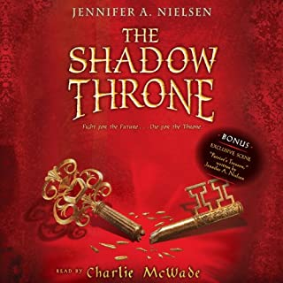 The Shadow Throne audiobook cover art