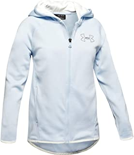 Under Armour Girls Zip Up Sweatshirt 1325452-P, Girls, Zip Up Sweatshirt, 1325452