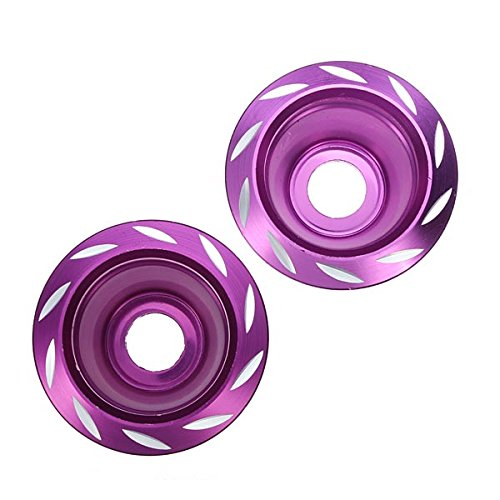 Wooya Modified Motorcycle Decoration Anticollision Cup Front Fork Cup-Violet