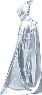 [175cm銀]ハロウィンフード付きのクローククリスマスパーティーコスプレ衣装