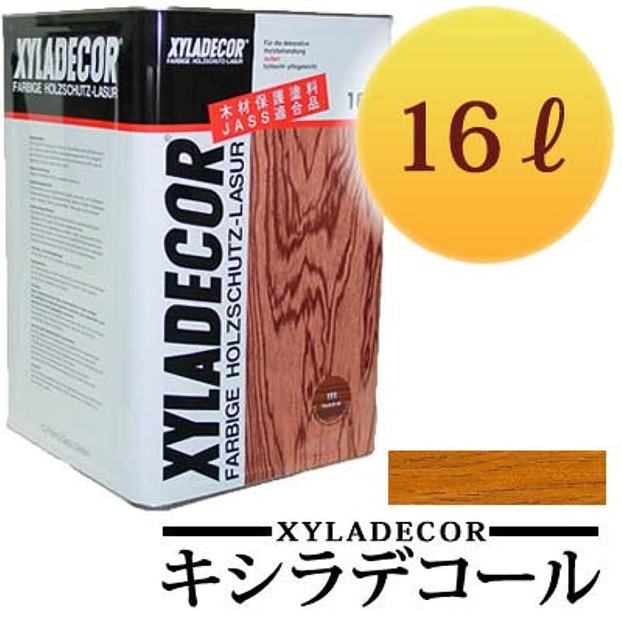 うなずく狂気司法キシラデコール #102ピニー [16L] XYLADECOR 日本エンバイロケミカルズ 屋外木部 ログハウス ウッドデッキ [木材保護塗料]