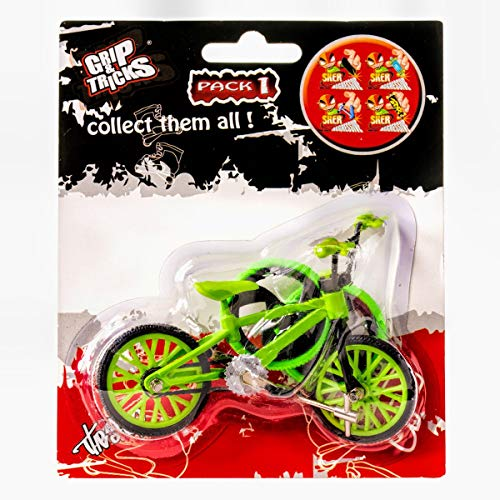 Grip & Tricks - Finger BMX - Mini BMX Freestyle Pack1 - Mini Fahrrad Freestyle