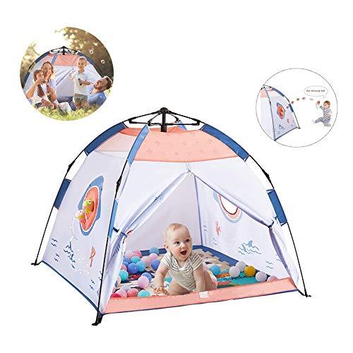 LIUCHANG Niños Pop-up Tienda del Juego, los niños Automatizado Carpa casa del Juego Pop-Up Camping al Aire Libre Cubierta Carpa Universal 120cm * 120cm * 108cm, A liuchang20