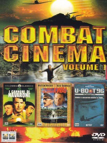 Combat cinema - I cannoni di Navarone + Il ponte sul fiume Kwai + U-boot 96Volume01 [3 DVDs] [IT Import]