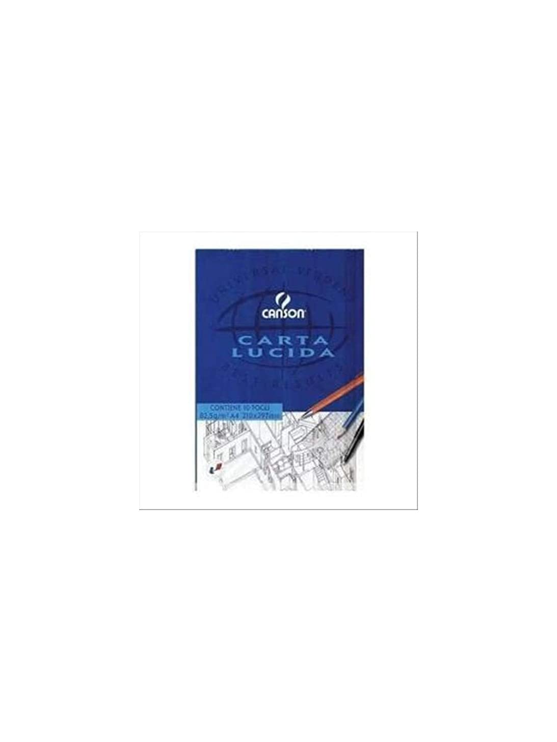 Canson 200005825A CF25 10FG. A4, glossy paper, pack of 25 blocks