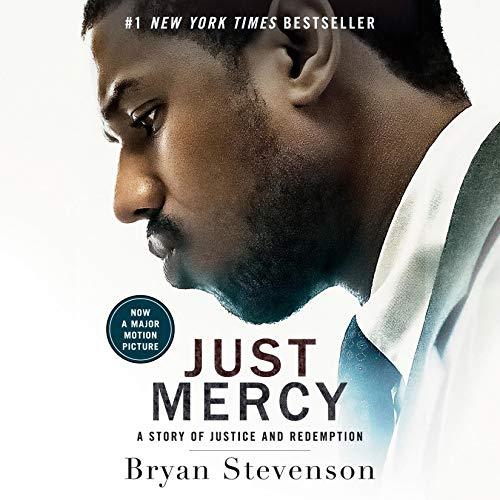 Just Mercy (Movie Tie-In Edition) audiobook cover art