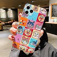アンパンマン光沢のある女の子ギフトソフト電話ケースアップルiPhone7 8 Plus X XS XR MAX 11 Pro 12 MiNi SE10グリッターバックカバー-A02_For_iPhone_7Plus_