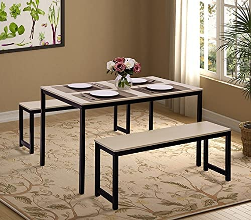 Sense FV Dining お買得 Table Set Modern with 3 Kitchen Pieces 直営店