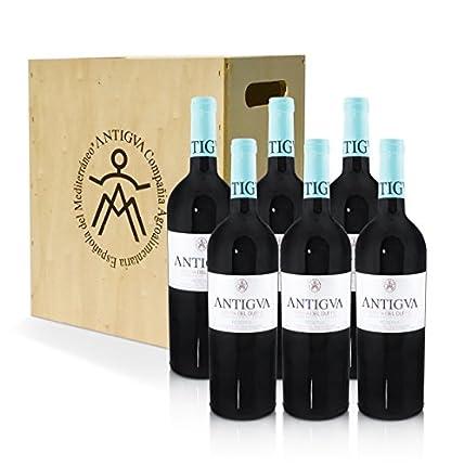 ANTIGVA Reserva 2014 - D.O. Ribera del Duero - Vino tinto Tempranillo - 6 botellas