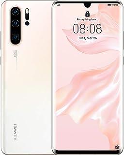 "Huawei P30 Pro Smartphone, Dual SIM, 6.47"", 128 GB, 8GB RAM - Pearl White"