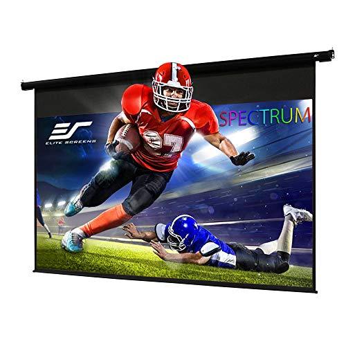 Elite Screens Spectrum, 84-inch Diag 16:9, Electric Motorized 4K/8K Ready Drop Down Projector Screen, ELECTRIC84H