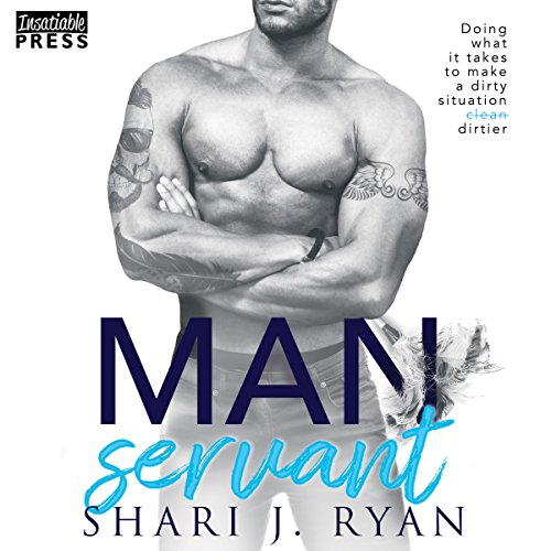 Manservant audiobook cover art