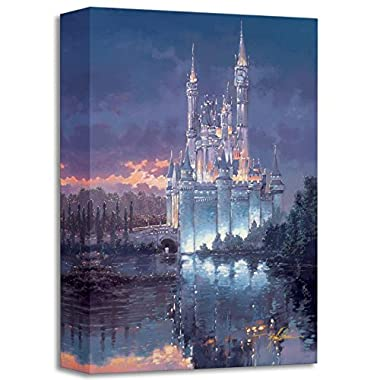 Royal Reflection  Limited edition gallery wrapped canvas by Rodel Gonzalez from the Disney Treasures collection, with COA.