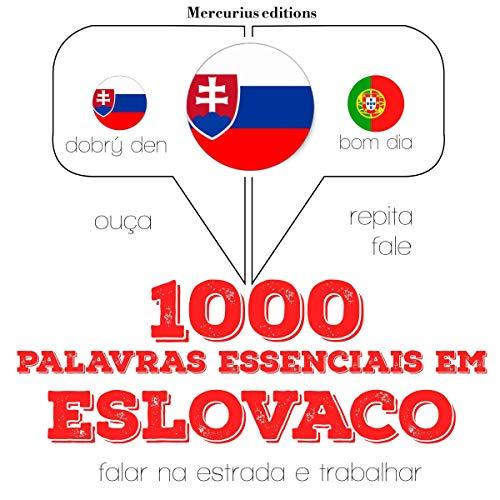 Diseño de la portada del título 1000 palavras essenciais em eslovaco