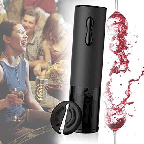 NKTJFUR Abridor De Botellas De Vino Eléctrico, Juego De Regalo De Sacacorchos Automático Recargable con Línea De Papel De Carga USB Cortador De Lámina para Cocina Restaurante De Restaurante