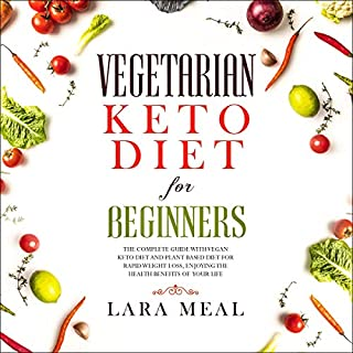 Vegetarian Keto Diet for Beginners cover art