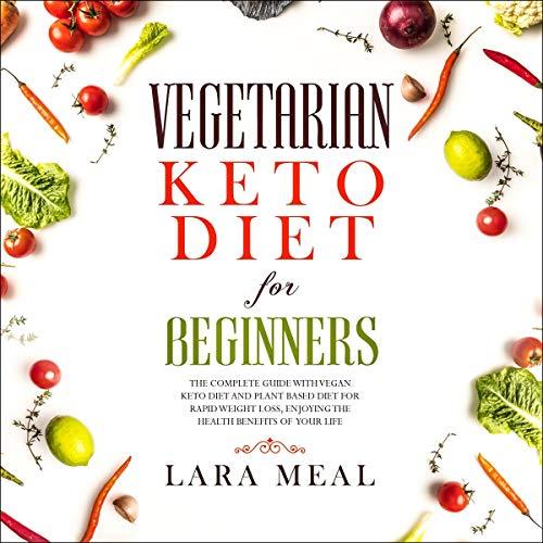 Vegetarian Keto Diet for Beginners Titelbild
