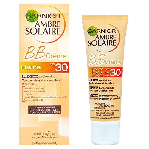 Garnier - Ambre Solaire - BB Crema Protettiva - SPF 30 Alta Protezione Speciale viso e décolleté