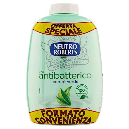 Neutro Roberts Sapone Liquido Antibatterico, Tè Verde, 400ml