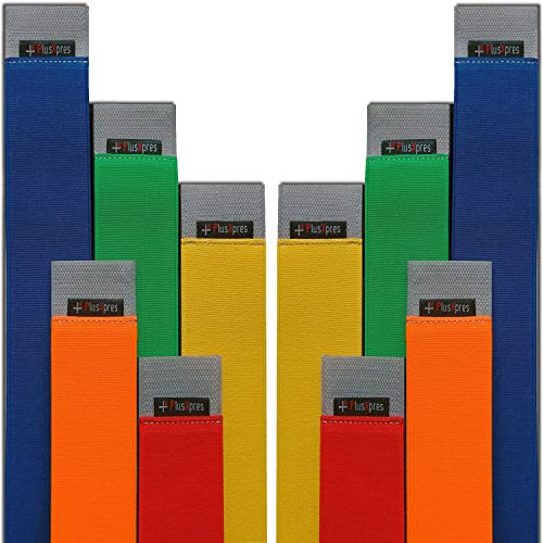 Universal Car Trunk Elastic Strap Belts ~ Cargo Storage Organizer Fixed Straps ~ Auto Hook & Loop Fastener ~ Automotive Storage Holder Belt ~ Vehicle Interior Organization made easy ~ 5 Pack Color