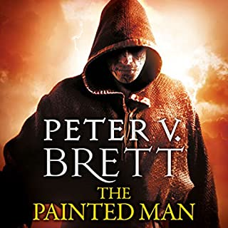 The Painted Man     The Demon Cycle, Book 1              By:                                                                                                                                 Peter V. Brett                               Narrated by:                                                                                                                                 Colin Mace                      Length: 16 hrs and 54 mins     409 ratings     Overall 4.6