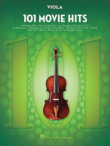 101 Movie Hits For Viola: Noten, Sammelband für Viola