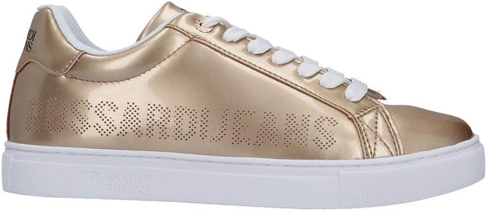 Trussardi jeans, sneakers,scarpe da ginnastica per donna,in ecopelle 79A00465