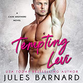 Tempting Levi     Cade Brothers, Book 1              By:                                                                                                                                 Jules Barnard,                                                                                        Punch Audio                               Narrated by:                                                                                                                                 Zachary Webber,                                                                                        Susannah Jones                      Length: 6 hrs and 6 mins     77 ratings     Overall 4.5
