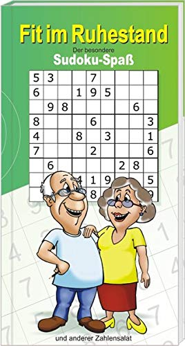 AV Andrea Verlag Fit im Ruhestand der besondere Sudoku Rätzel Spaß Rentner Power Senioren Freizeit Oma Opa (Fit im Ruhestand 10203)
