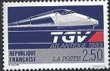Prophila Collection Francia Michel.-No..: 2743 (Completa.edición.) 1989 TGV-Atlantique (Sellos para los coleccionistas) vehículos sobre raíles / funicular