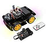 Freenove 4WD Car Kit with RF Remote (Compatible with Arduino...