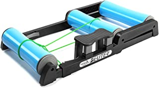 comprar comparacion Entrenador rodillos bicicleta interior ajustable - Pedal antideslizante Fácil de transportar Silencioso poco ruido - para ...