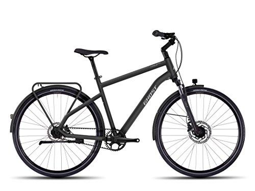 Ghost Square 7 Trekking Bike 2016 (Schwarz/Silber, 52cm)