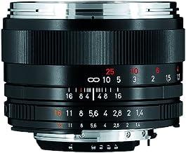 Zeiss Classic Planar ZF.2 T 1.4/50 Standard Camera Lens for Nikon F-Mount SLR/DSLR Cameras, Black (1767825)