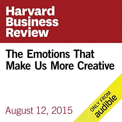 The Emotions That Make Us More Creative copertina