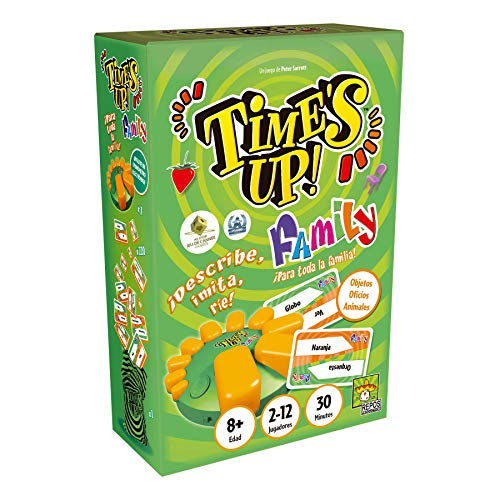 Time's Up! Family GMS (Big Box) - ¡Adivina quién es!