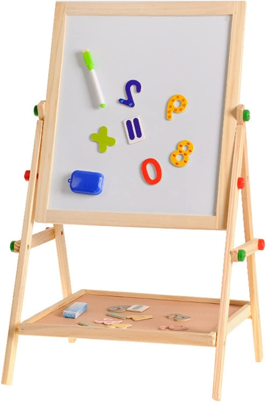 JIAQUAN-SHOP Easel Wooden Drawing S Whiteboard Blackboard New Safety and trust Orleans Mall Double