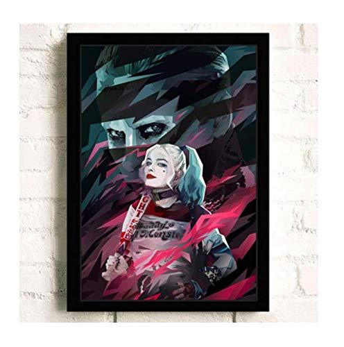 H/E Suicide Squad Poster Canvas Painting Home Decoration Rahmenlos 40X60Cmy2354
