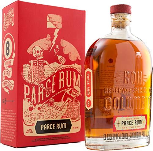 Parce Rum 8 años 700ml - gift box-