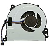 CAQL CPU Cooling Fan for HP Envy TouchSmart M7-J000 M7-J100 M7-J010DX M7-J020DX M7-J078CA M7-J120DX 17T-J000 17T-J100 M6-N000 M6-N010DX M6-N012DX M6-N100 M6-N113DX, P/N: 720235-001 KSB06105HB-CJ1M