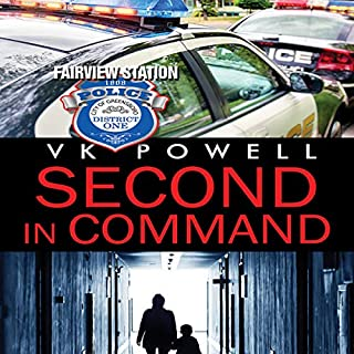 Second in Command audiobook cover art