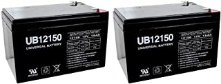 Universal Power Group 12V 15AH F2 Replacement Battery for Razor Dirt Rocket SX500, 15128-2 Pack