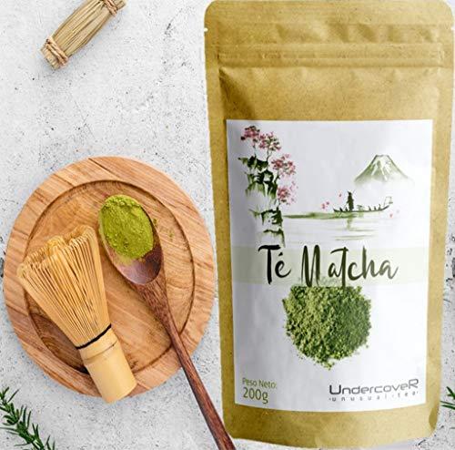 Te Matcha Japonés en Polvo Grado Premium 200gr (200 dosis) - Te Matcha - Matcha - Matcha Tea - Te Verde Matcha - Matcha Polvo - Té Matcha - Té Verde Matcha - Te Matcha en Polvo - Te Matcha Polvo