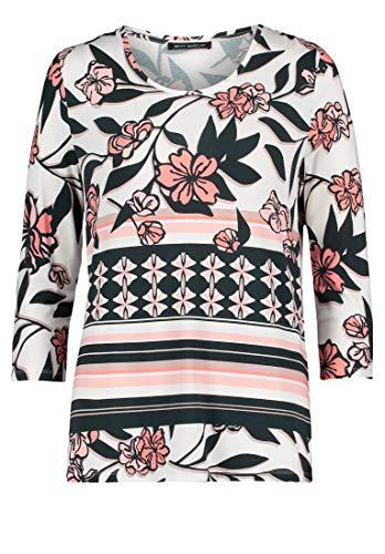 Betty Barclay Siri T-Shirt, Multicolore (Dark Blue-rosé 8847), 44 (Taglia Produttore: 38) Donna